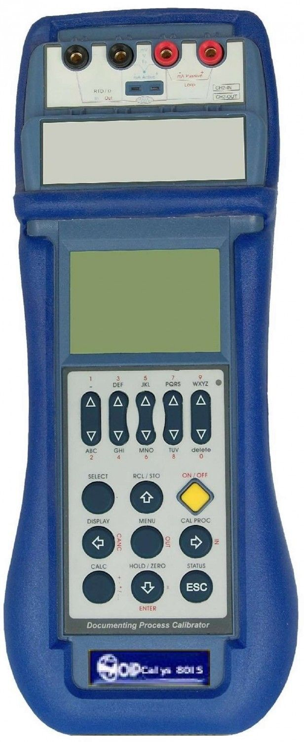 Field Pressure Calibrator With High Accuracy 0 01 Calys